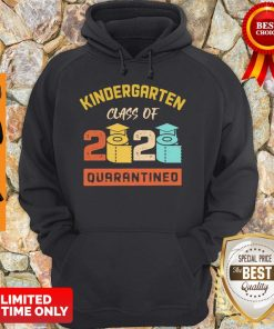 Kinder Garten Class Of 2020 Toilet Paper Quarantined Vintage Hoodie