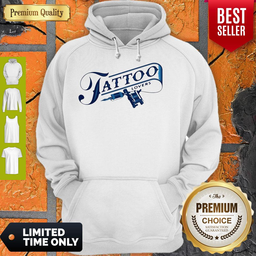 Official Tattoo Lovers Hoodie
