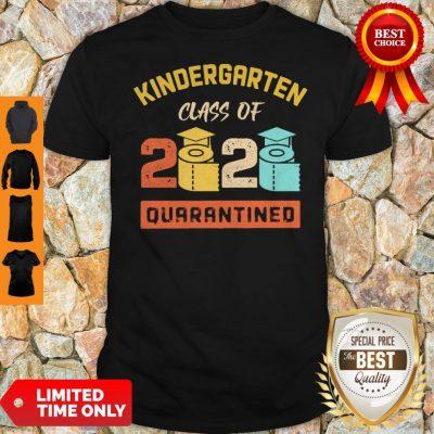 Kinder Garten Class Of 2020 Toilet Paper Quarantined Vintage Shirt