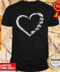 Original Heart Truck I Love Trucker Shirt