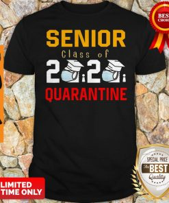 Awesome Senior Class Of 2020 Toilet Paper Quarantine Shirt