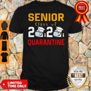 Awesome Senior Class Of 2020 Toilet Paper Quarantine Shirt
