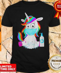 Awesome Unicorn In Quarantined Shirt