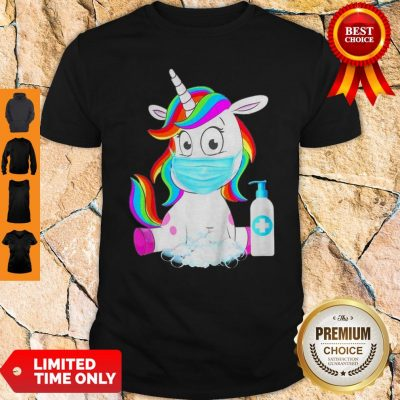 Awesome Unicorn In Quarantined Shirt