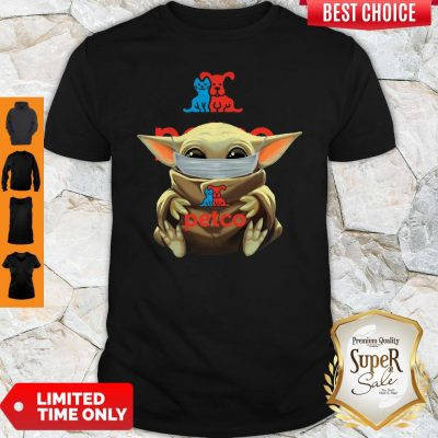 Premium Baby Yoda Face Mask Petco Shirt