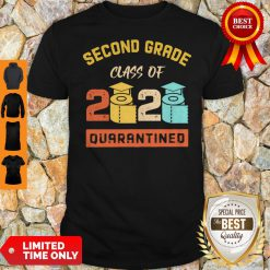 Second Grade Class Of 2020 Toilet Paper Quarantined Vintage Shirt
