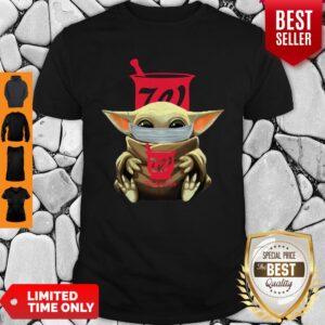 Pretty Baby Yoda Mask Hug Walgreens Shirt