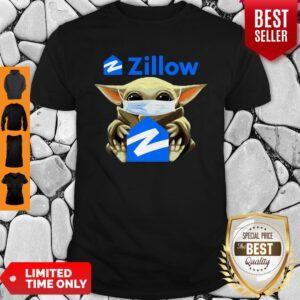 Original Baby Yoda Mask Hug Zillow Coronavirus Shirt