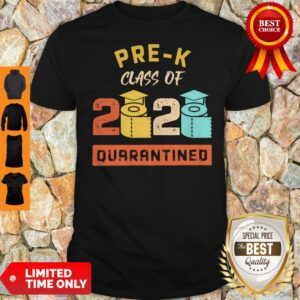 Pre-K Class Of 2020 Toilet Paper Quarantined Vintage Shirt