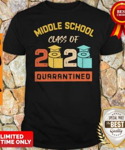 Middle School Class Of 2020 Toilet Paper Quarantined Shirt