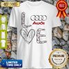 Original Heart Love Audi Car Shirt