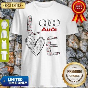Original Heart Love Audi Car Shirt