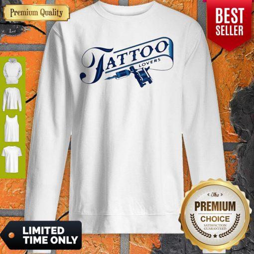 Official Tattoo Lovers Sweatshirt