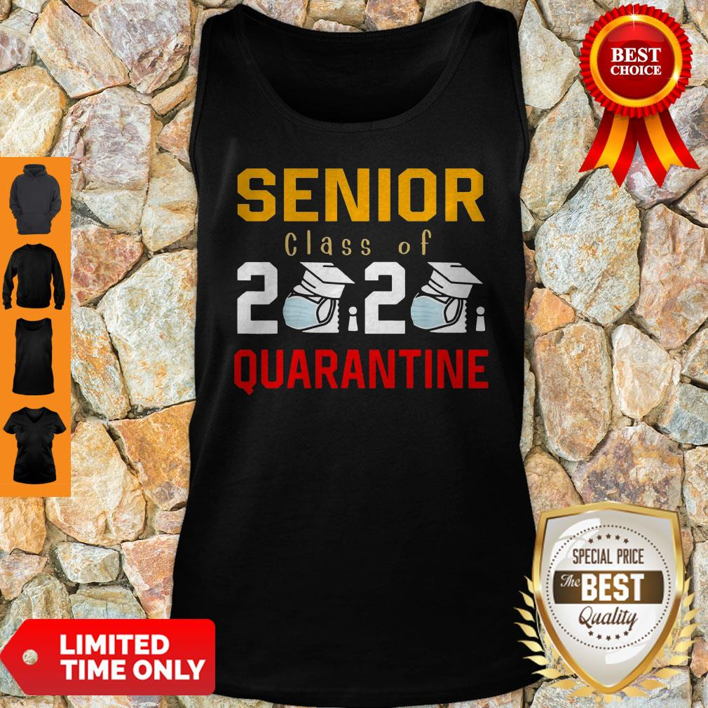 Awesome Senior Class Of 2020 Toilet Paper Quarantine Tank Top
