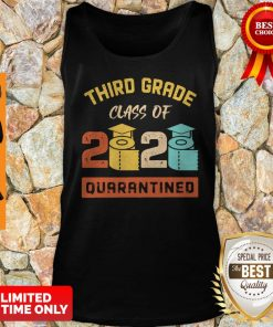 Third Grade Class Of 2020 Toilet Paper Quarantined Vintage Tank Top