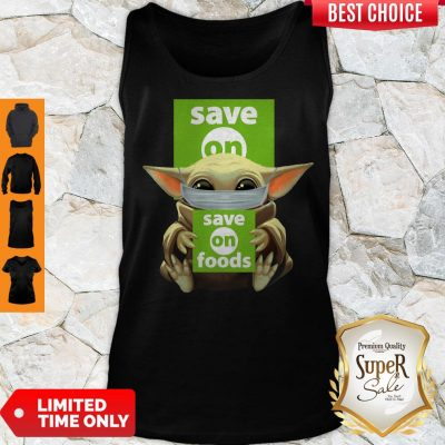 Original Baby Yoda Face Mask Save On Foods Tank Top