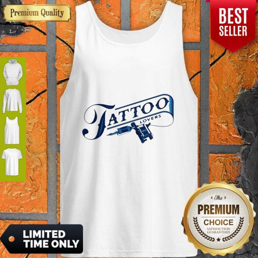 Official Tattoo Lovers Tank Top