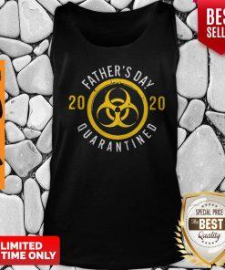 Nice Biological Hazard Father's Day 2020 Quarantined Coronavirus Tank Top
