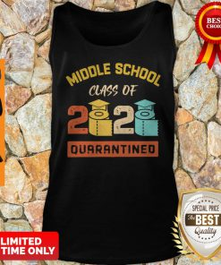 Middle School Class Of 2020 Toilet Paper Quarantined Tank Top