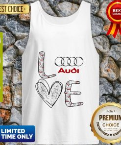 Original Heart Love Audi Car Tank Top