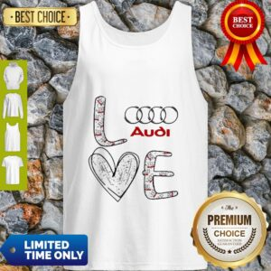 Original Heart Love Audi Car Tank Top