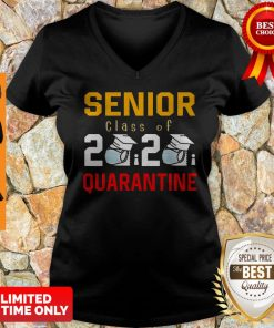 Awesome Senior Class Of 2020 Toilet Paper Quarantine V-neck