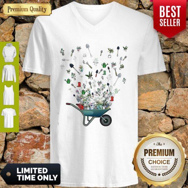 Official Gardening Lovers V-neck