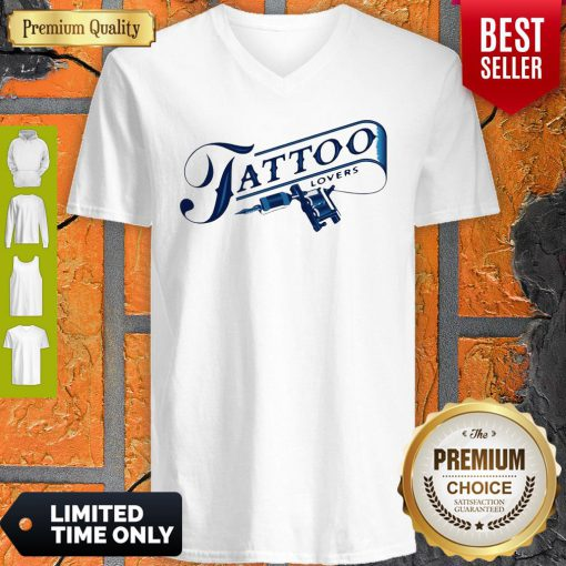 Official Tattoo Lovers V-neck