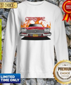 Awesome Plymou Thfront Red Christine Sweatshirt