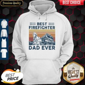 Best Firefighter DAD EVER Vintage Father's Day Classic Hoodie