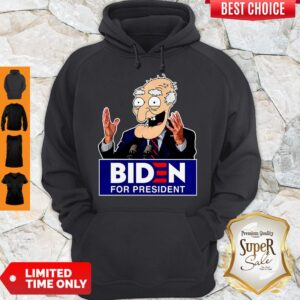 Official Biden For President Hoodie