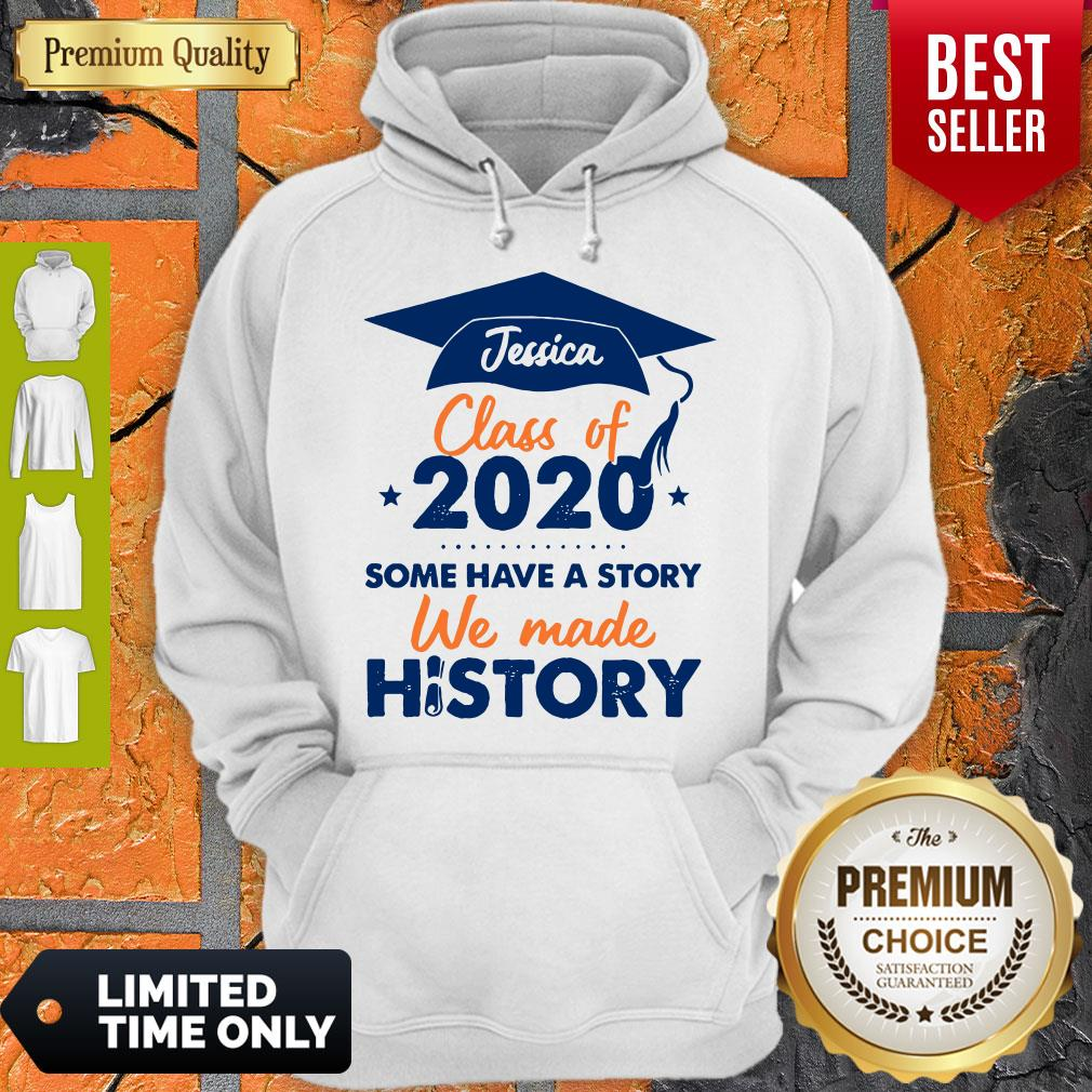 We Made History Senior 2020 Personalized Hoodie