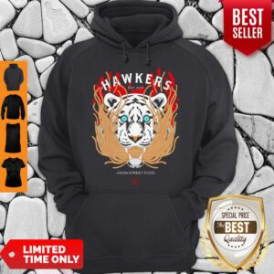 Official Hawkers Asian Street Food Tiger Hoodie
