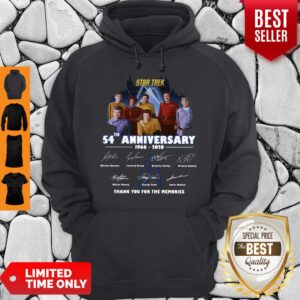 Star Trek 54th Anniversary 1966-2020 All Character Signature Hoodie