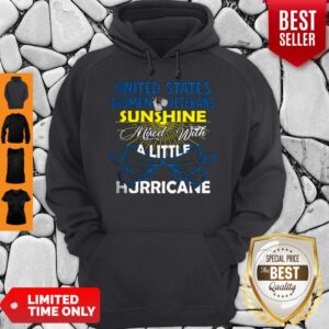 Official Sunshine Mixed With A Little Hurricane Hoodie