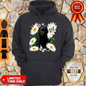 Official Black Labs Daisy Flower Classic Hoodie