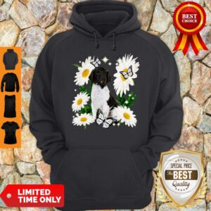 Official Small Munsterlander Daisy Flower Classic Hoodie