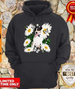 Official Smooth Fox Terrier Daisy Flower Classic Hoodie