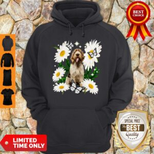 Official Spinone Italiano Daisy Flower Classic Hoodie