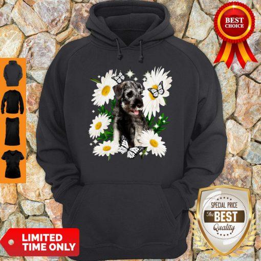 Official Standard Schnauzer Daisy Flower Classic Hoodie