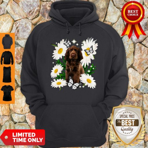 Official Sussex Spaniel Daisy Flower Classic Hoodie