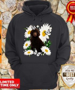 Official Standard Poodle Daisy Flower Classic Hoodie