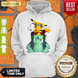 Pokemon Pikachu And Bulbasaur Mashup Naruto Jiraiya Hoodie