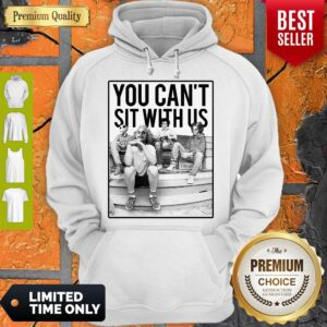 Official Minor Threat Horror You Can't Sit With Us Hoodie