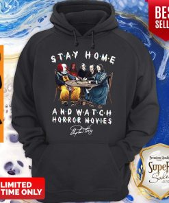 Nice Stay Home And Watch Horror Movies Hoodie
