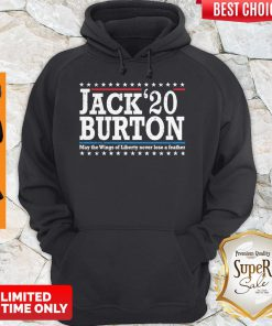 Nice Jack'20 Burton May The Wings Of Liberty Never Lose A Feather Hoodie