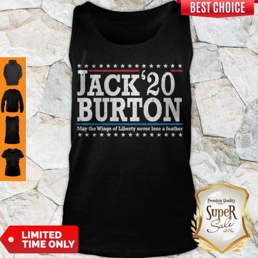 Nice Jack'20 Burton May The Wings Of Liberty Never Lose A Feather Tank Top