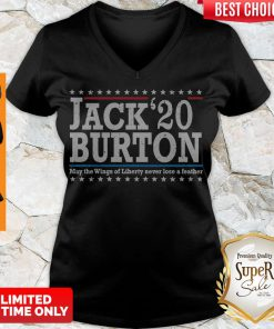 Nice Jack'20 Burton May The Wings Of Liberty Never Lose A Feather V-neck