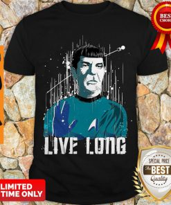 Nice Star Trek Spock Live Long Shirt
