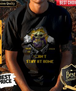 Perfect Blood Inside Me Baby Yoda The Tiger Lsu Covid 19 2020 I Can't Stay At Home Shirt